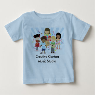 Camisa creativa del niño del cantón