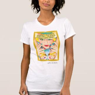 Camisa: Creo en Mani-Pedis semanal Remera