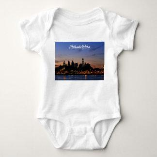 Camisa crepuscular del horizonte de Philadelphia