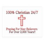 Camisa cristiana 3 postal