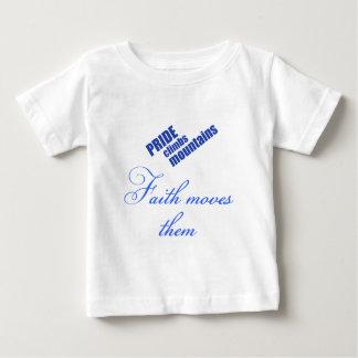 Camisa cristiana del bebé