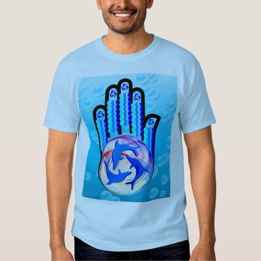 Camisa curativa de la mano