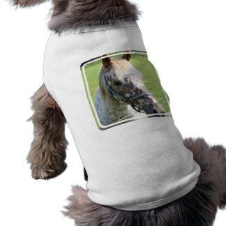 Camisa Dappled del mascota del caballo del Appaloo Camisa De Perro