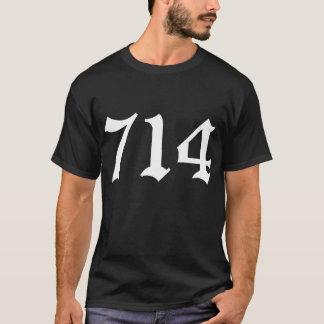 Camisa de 714 Condados de Orange (negro)