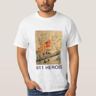 Camisa de 911 HÉROES