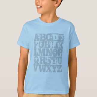 Camisa de ABC - el alfabeto