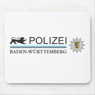 Camisa de Alemania del león de Polizei Alfombrilla De Ratones