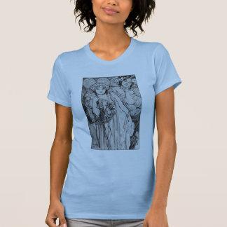 Camisa de Alphones Mucha del ~ de la amistad