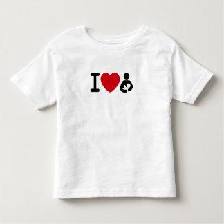 Camisa de amamantamiento del niño I <3