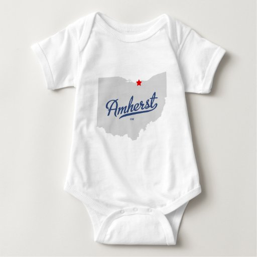 Camisa de Amherst Ohio OH