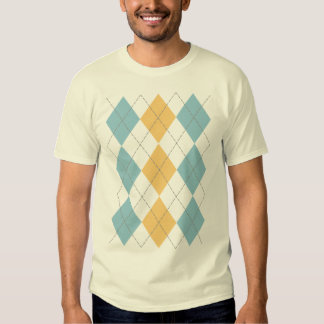 Camisa de Argyle de la barandilla de Benjamin