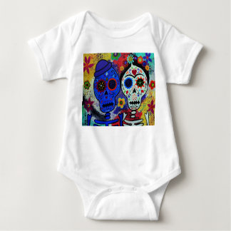 Camisa de Artist Dia de los Muertos Baby del