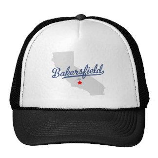 Camisa de Bakersfield California CA Gorras De Camionero