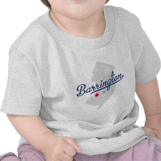 Camisa de Barrington New Jersey NJ