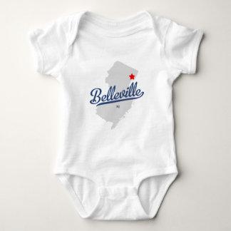 Camisa de Belleville New Jersey NJ