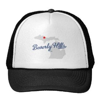 Camisa de Beverly Hills Michigan MI Gorras