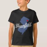 Camisa de Bloomfield New Jersey NJ