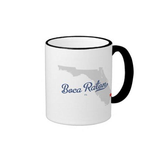 Camisa de Boca Raton la Florida FL Taza De Café
