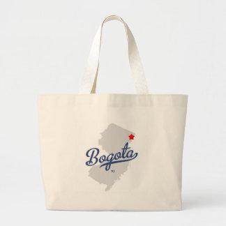 Camisa de Bogotá New Jersey NJ Bolsa Tela Grande