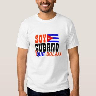 Camisa de Bolaaa del que de la soja CUBANO y