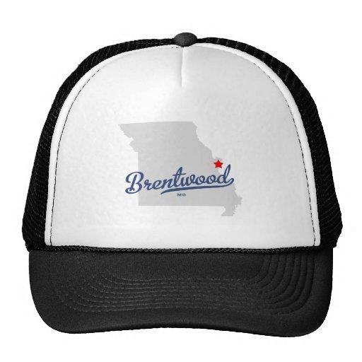 Camisa de Brentwood Missouri MES Gorra
