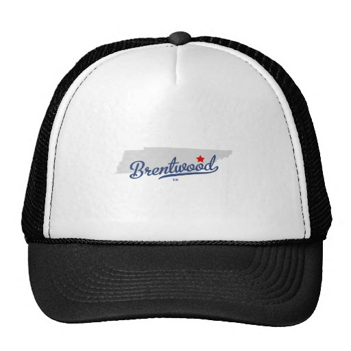 Camisa de Brentwood Tennessee TN Gorros