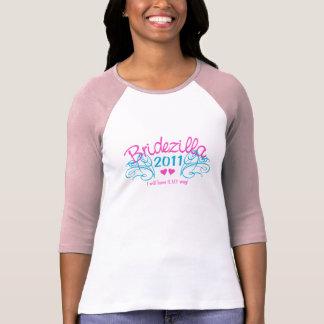 Camisa de Bridezilla - elija el estilo y el color