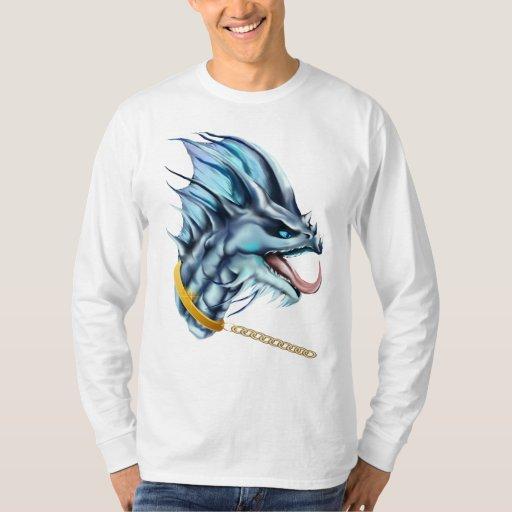 Camisa de cadena del dragón y del oro