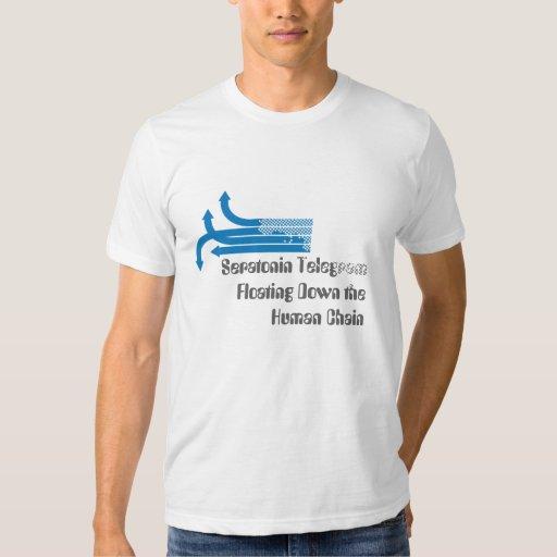 Camisa de cadena humana flotante