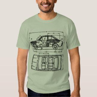 Camisa de Cali GA del estilete y del Imp del rayo
