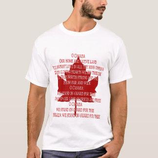 Camisa de Canadá del recuerdo de la camiseta del