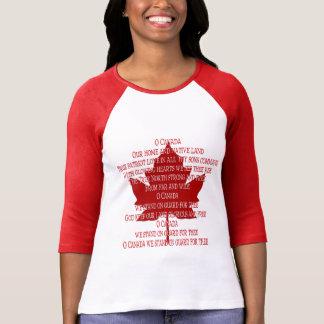 Camisa de Canadá del recuerdo de las mujeres del j
