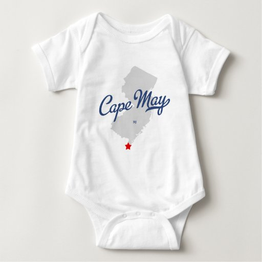 Camisa de Cape May New Jersey NJ