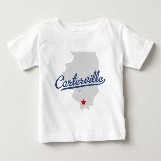 Camisa de Carterville Illinois IL
