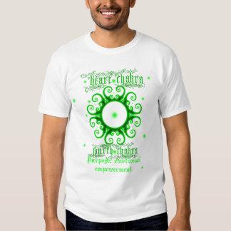 Camisa de Chakra del corazón