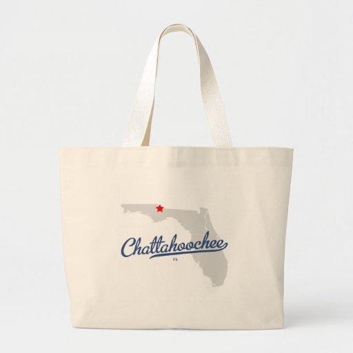 Camisa de Chattahoochee la Florida FL Bolsa De Mano