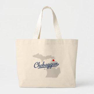 Camisa de Cheboygan Michigan MI Bolsa