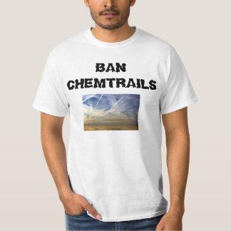 """""""Camisa de Chemtrails de la prohibición"""" Playera"""