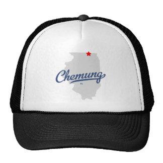 Camisa de Chemung Illinois IL Gorras