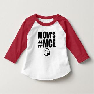 Camisa de chico divertida del MCE de la mamá