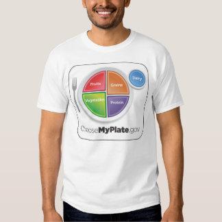 Camisa de ChooseMyPlate