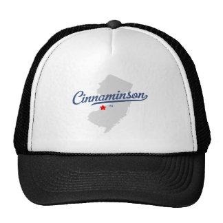 Camisa de Cinnaminson New Jersey NJ Gorras