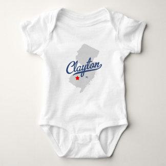 Camisa de Clayton New Jersey NJ