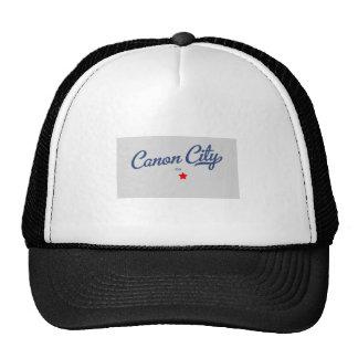 Camisa de Colorado CO de la ciudad de Canon Gorras