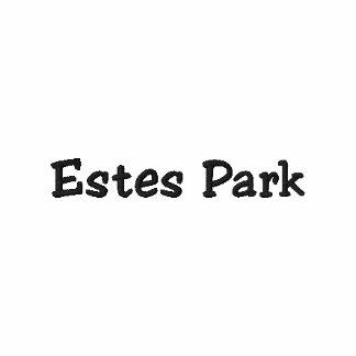 ¡Camisa de Colorado del parque de Estes - personal Polo Bordado