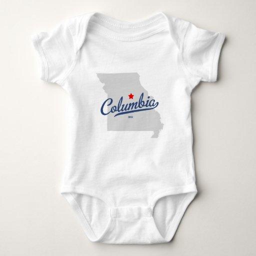 Camisa de Columbia Missouri MES