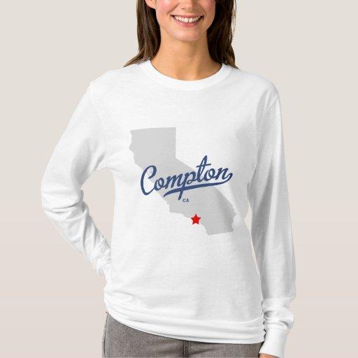 Camisa de Compton California CA