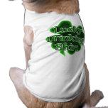 Camisa de consumición afortunada prenda mascota