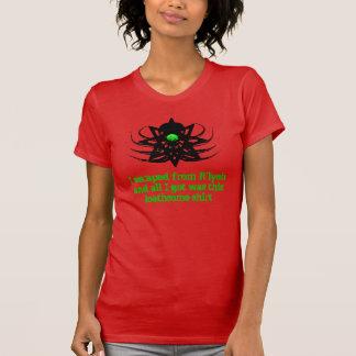 Camisa de Cthulhu - escape de R'lyeh