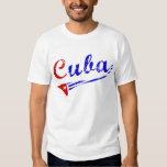 Camisa de Cuba con la bandera cubana